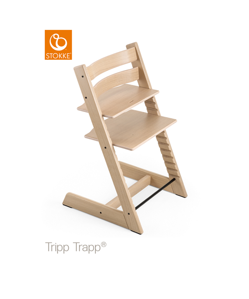 Image of   TRIPP TRAPP® Højstol - Oak Natural