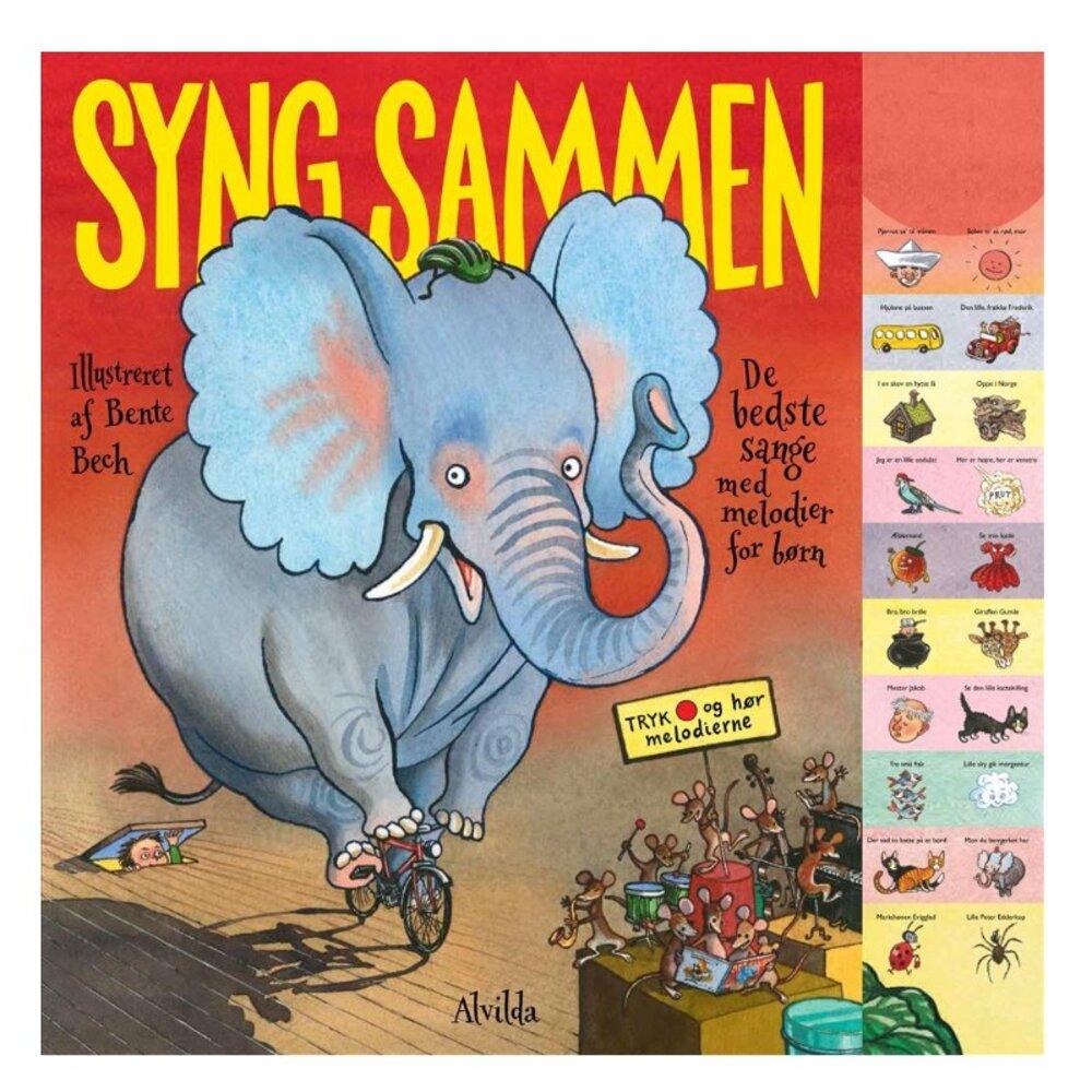 Image of   Alvilda Syng Sammen - De Bedste Sange Med Melodier For Børn