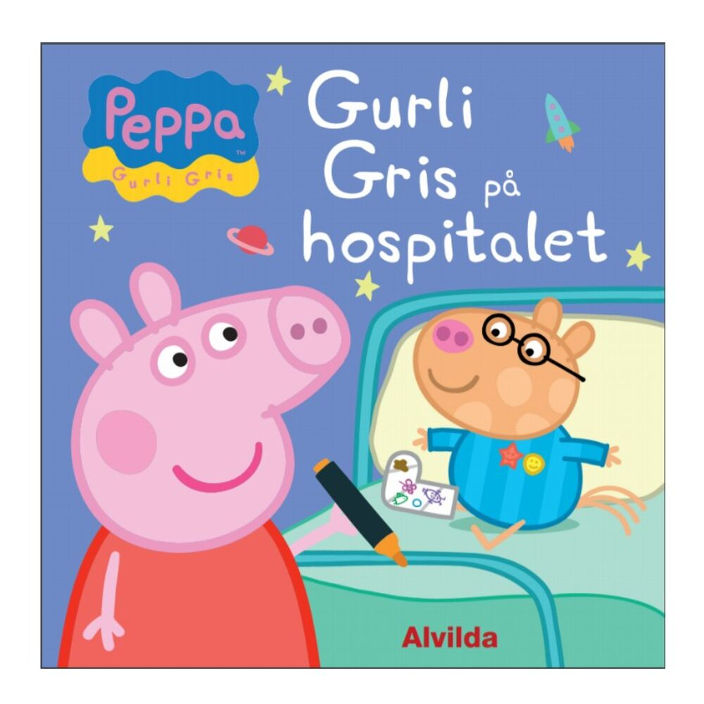 Image of   Alvilda Gurli Gris på hospitalet