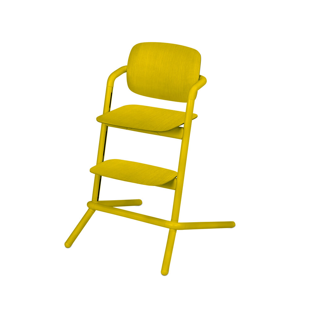 Image of   Cybex LEMO Højstol Wood - Canary Yellow