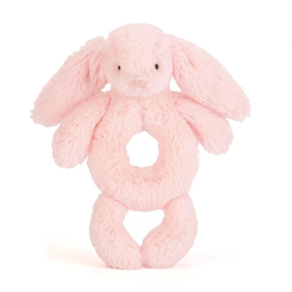 Image of   JellyCat Kanin Rangle - Lyserød
