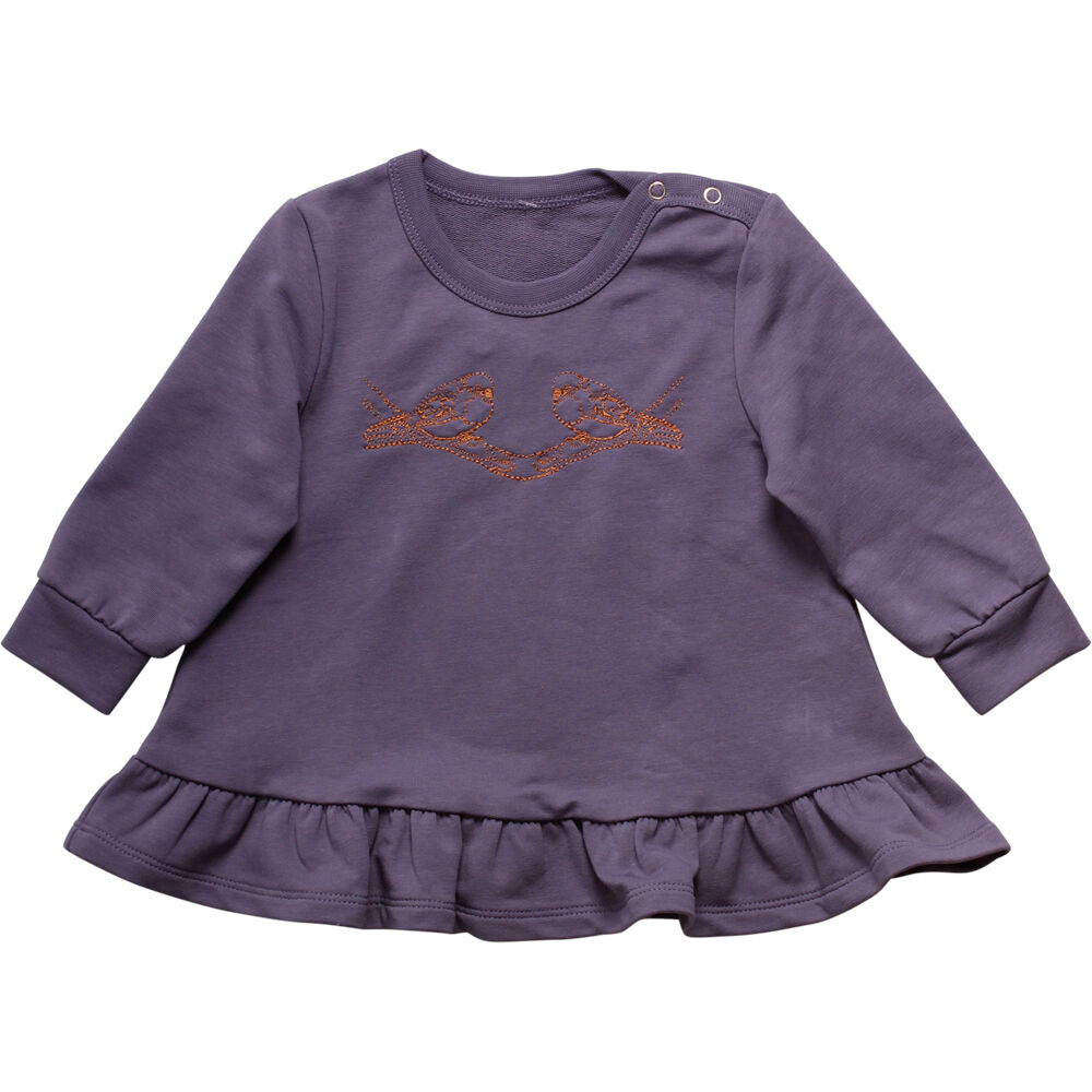 Image of   BeKids Bird Sweatshirt - Purple
