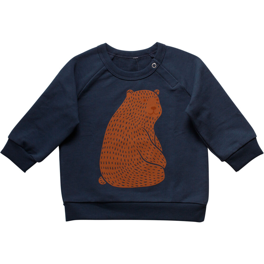 Image of   BeKids Grizzly Sweatshirt - Midnight