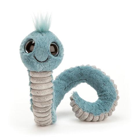 Wiggly Orm, Blå 16 cm