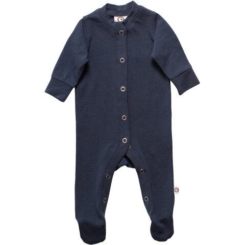 Alfa Bodysuit Med Fødder - Midnight