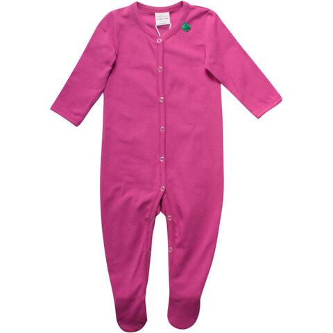 Alfa Bodysuit Med Fødder - Violet