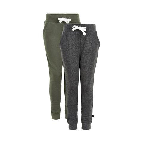 2 Pak Basic Sweatbuks - 978 Grøn