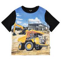 T-shirt Kortærmet Med Dumper - 1061