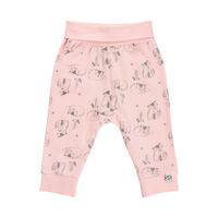 Mønstret Sweatbuks - 519 Peachskin