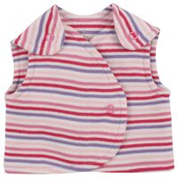 Vest - Little Bee - Pink Strib