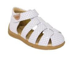 Sandal M. Velcro - White