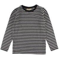 T-Shirt Med Lange Ærmer - Sort