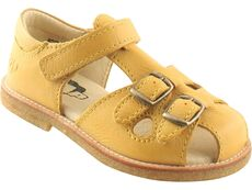 Håndlavet Sandal - 71 Yellow