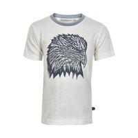 Kortærmet T-Shirt Med Print - 1000