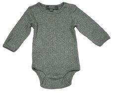 Baby Bodystocking - Grey Melange 006