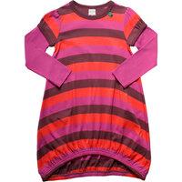Multi Stripe Kjole - Plum Purple