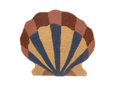 Shell Tufted Wall/Floor Deco