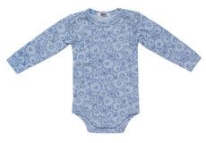 Body Med Lange Ærmer - 3176 Lysblå