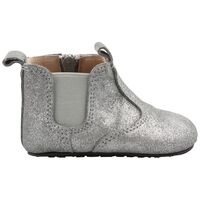 Elastic Slippers - Silver/-01