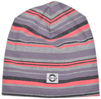Bomuldshat Multi Stripe - 739 Dusty Quail