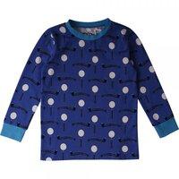 Mysterie T-shirt - Royal Blue