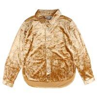 Hanna Langærmet T-shirt - 02-66 Pale Gold