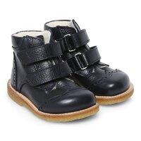 Støvle Med Velcro Luk -1989Marine