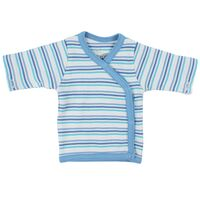 Wrap Bluse - Little Bee - Blå Strib