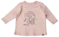 Langærmet T-Shirt - Chintz Rose/501