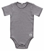 Kortærmet Body  - 147 Grey