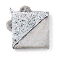 Liberty Babyhåndklæde - Stars Grey