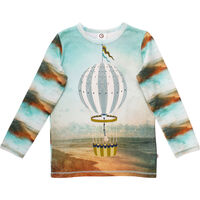 Spicy Air Balloon T-shirt - Midnight