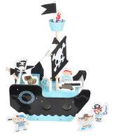 Piratskib Med Figurer