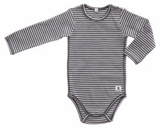 Body Langærmet Rib - 147 Grey