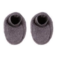 Woolly Fleece Booties - Greymarl
