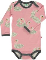 Uld Mix Body Med Svaner - 525 Winter Pink