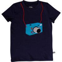 Rosa Spion Kamera T - NAVY