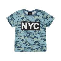 T-shirt - Middleblue