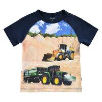 T-shirt Kortærmet Med Traktor - 7721