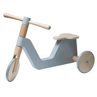 Sebra scooter, grå, Indendørs