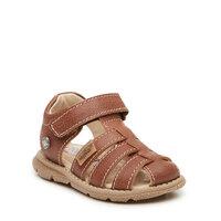 Sandal Med Lukket Tå - Tan