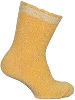 Strømper, Romantic Med Lurex - 639 Yolk Yellow