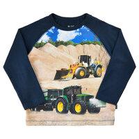T-shirt Langærmet Med Traktor - 7721