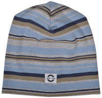 46791e1bfc5 Bomuldshat Multi Stripe - 287 Blue Nights. Mikk-Line