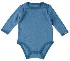 Brooke Baby solid LS Body - Dark Blue/270