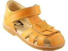 Lædersandal Slank Fod - G1 Yellow