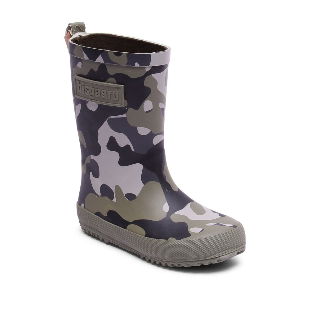 Image of   Bisgaard Gummi Støvle, Fashion - 176 Camouf