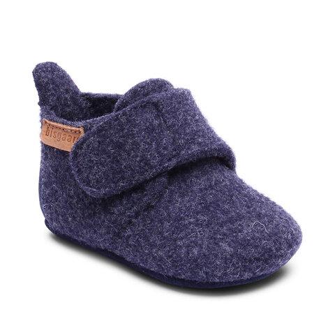 Hjemmesko, Wool Star - 20 Blue