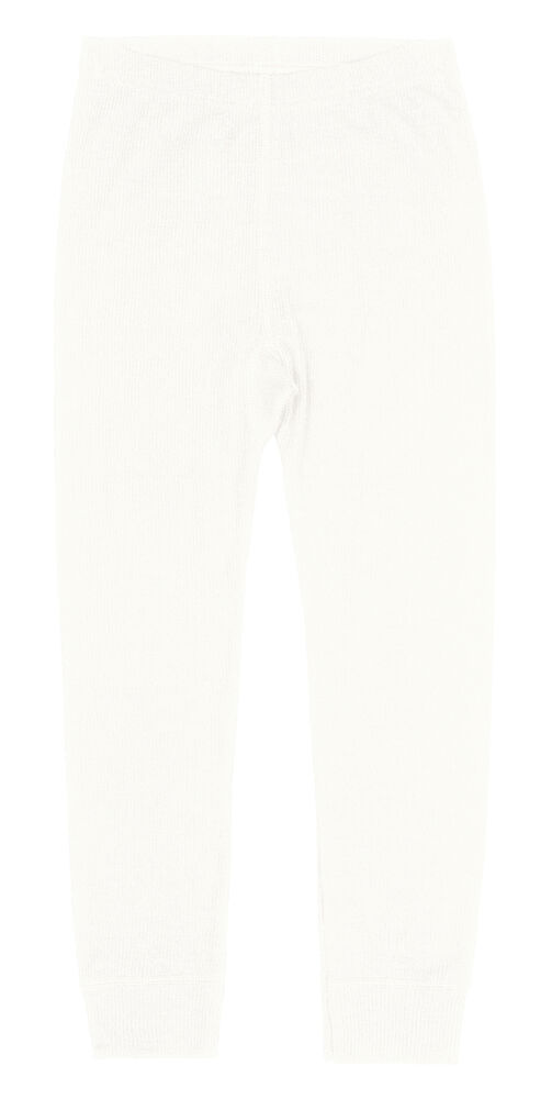 Image of   BeKids Leggings I Uld - Råhvid/50