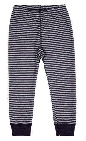 Leggings I Uldmix - Navy & Grå/6942